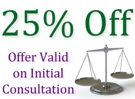 25% Off, Offer Valid on Initial Consultation